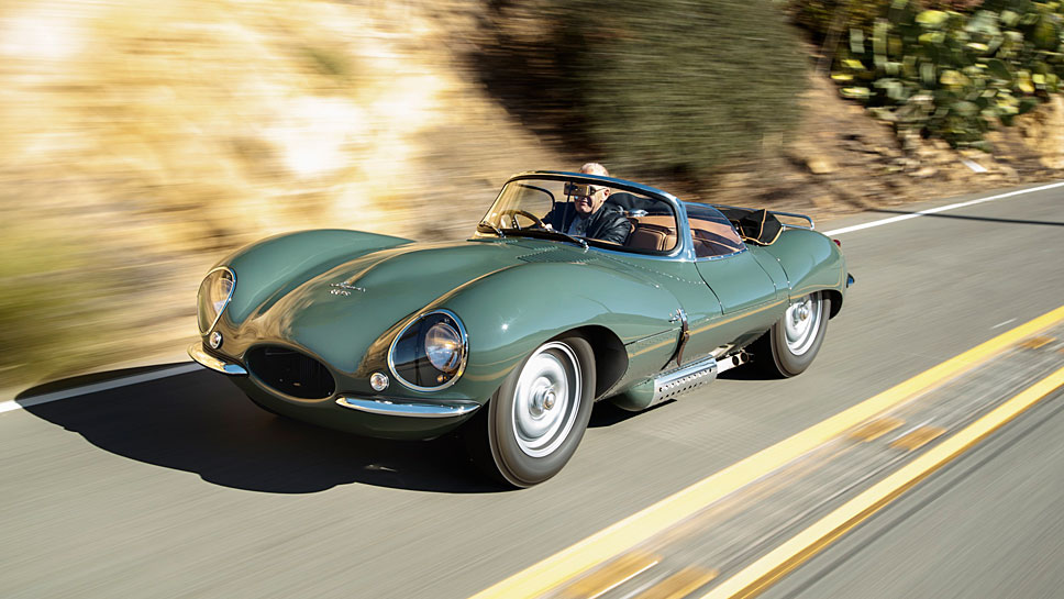Jaguar legt den D-Type neu auf