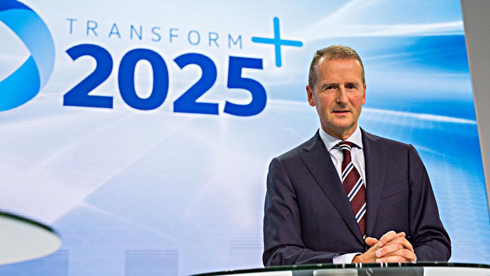 VW-Markenchef Herbert Diess.