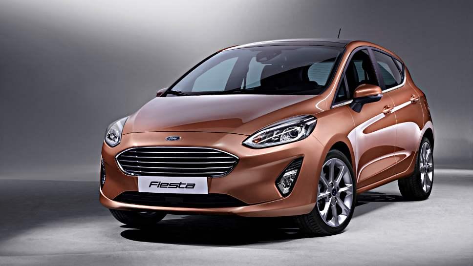 So schaut die achte Generation des Ford Fiesta aus.