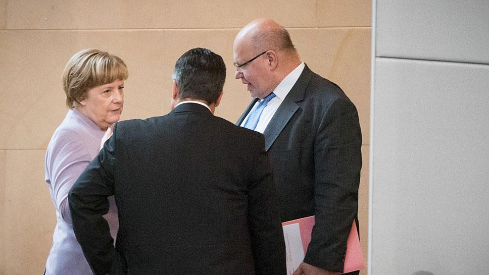Angela Merkel, Sigmar Gabriel, Peter Altmaier sollen vor dem Ausschuss aussagen