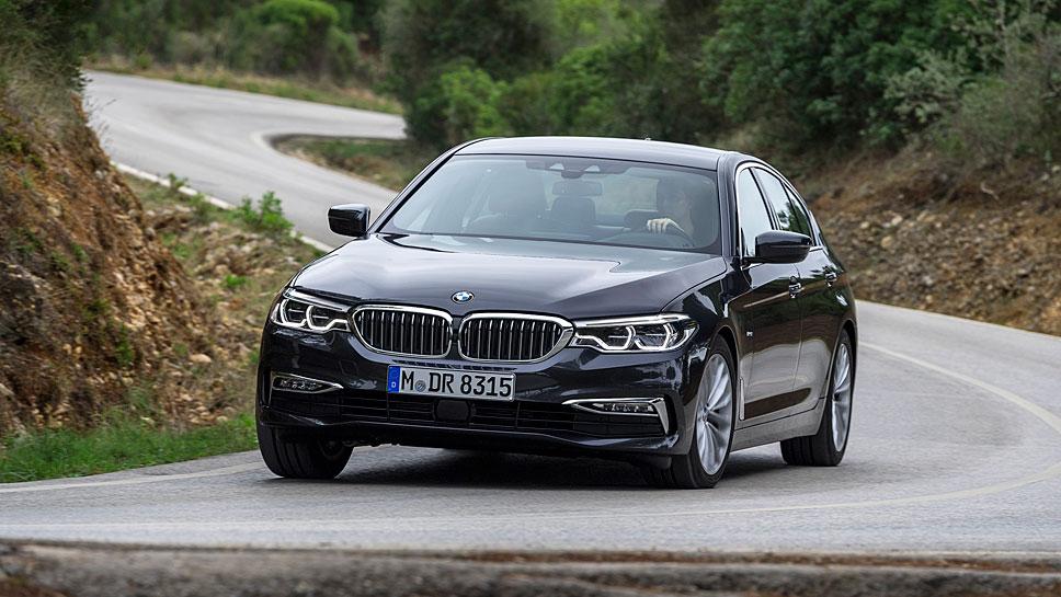 BMW bringt den 5er im Februar 2017