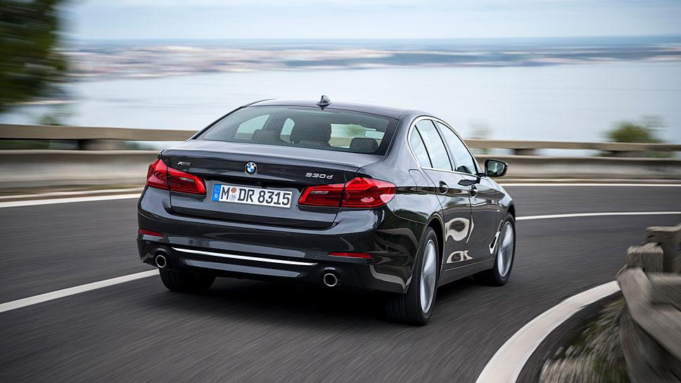 Der neue 5er BMW kommt Anfang Januar 2017