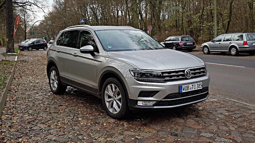 Die Tiguan-Familie treibt die VW-Verkäufe an