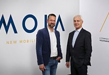 Moia-Chef Ole Harms und VW-Chef Matthias Müller