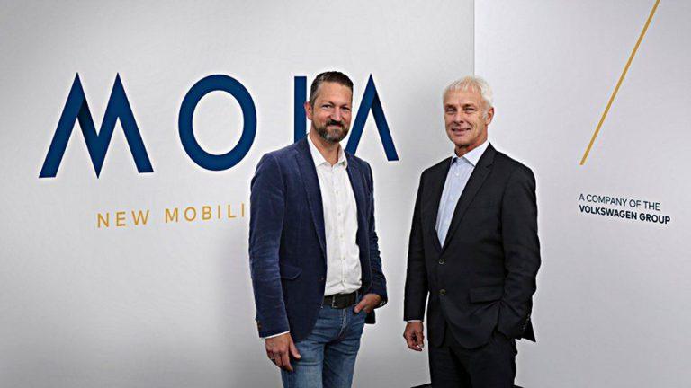 VW will mit Moia einer der führenden Mobilitätsdienstleister werden