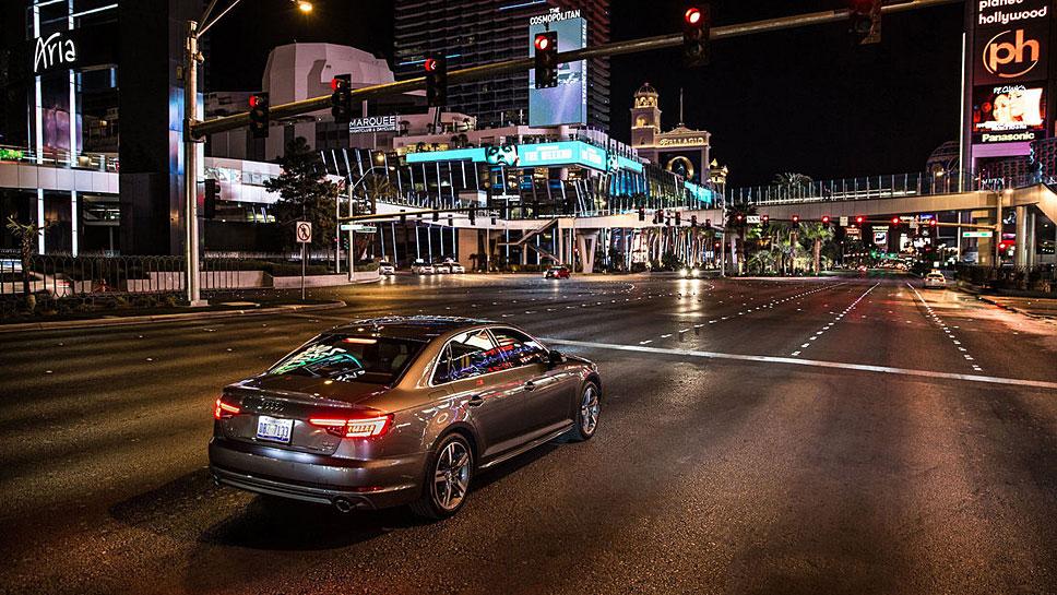 Audi dank Ampelinformationen effizienter unterwegs