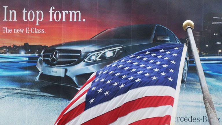 Daimler in den USA mit Etappensieg