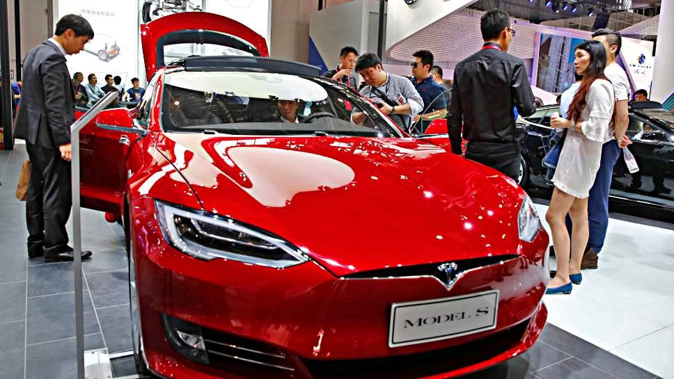 Der Automarkt in China wächst deutlich.