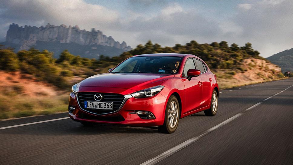 Der Mazda3 wurde vor allem technisch auf Vordermann gebracht