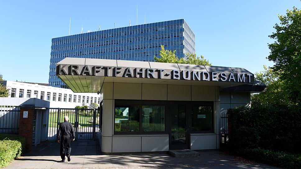 Das Kraftfahrt-Bundesamt in Flensburg