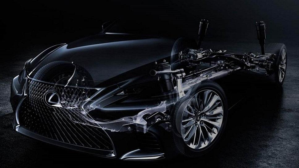 Der Lexus LS ist noch nicht zum Einsteigen bereit