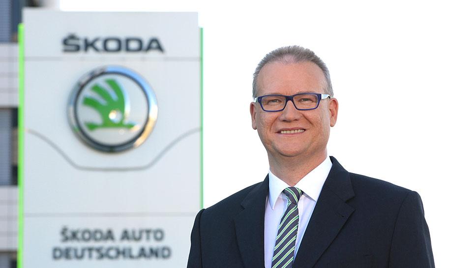 Frank Jürgens verantwortet das Deutschlandgeschäft von Skoda.