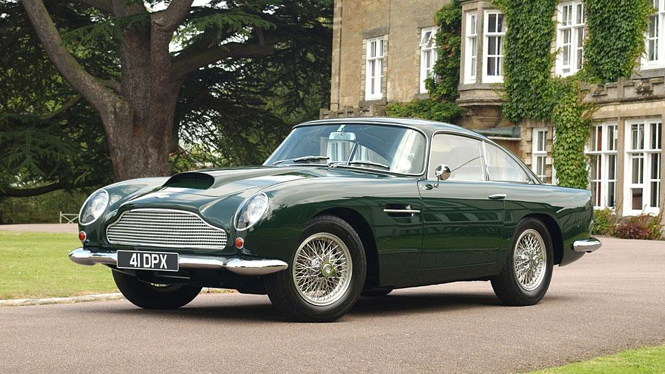 Aston Martin belebt den DB4 wieder neu