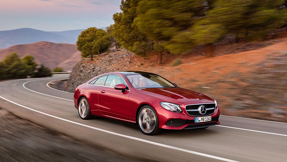 Mercedes hat für die E-Klasse wieder ein Coupé kreiert