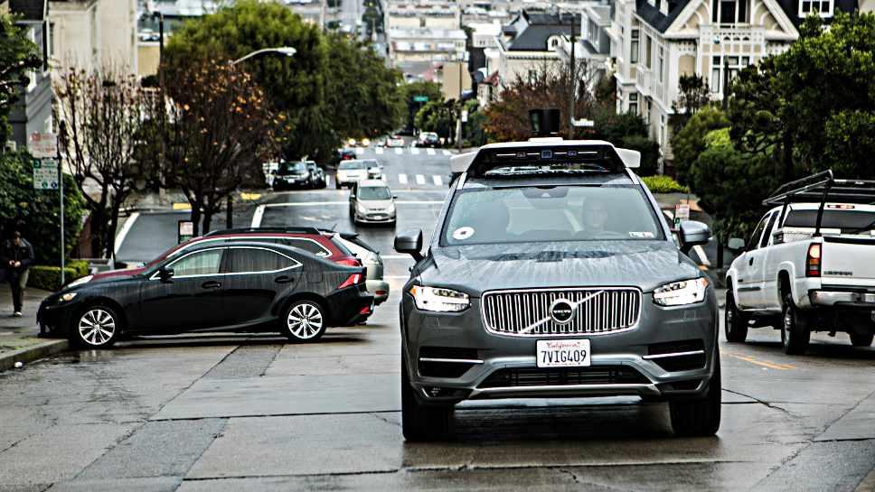 Uber darf zwei Roboterwagen in Kalifornien einsetzen