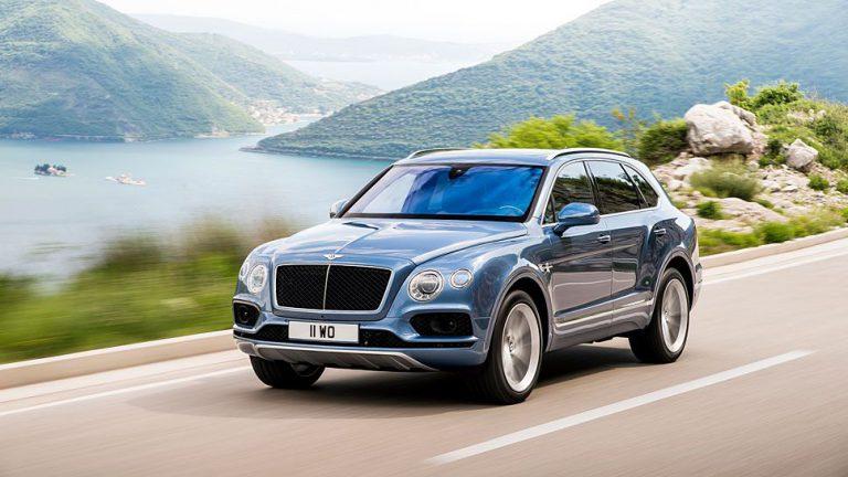 Bentley Bentayga Diesel: SUV in Sportwagenmanier