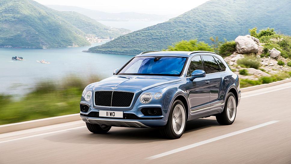 Bentley feiert mit dem Bentayga Diesel-Premiere