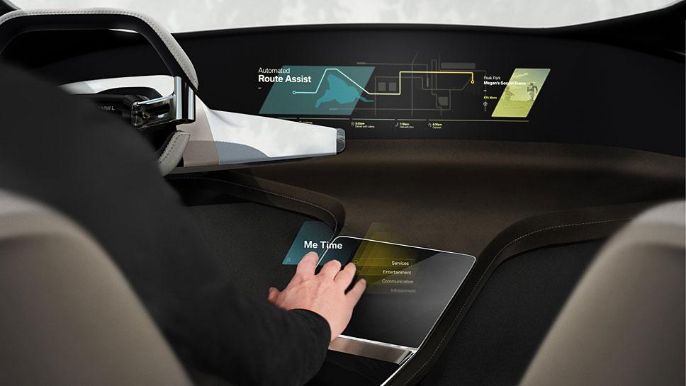 BMW präsentiert die Studie eines holographischen Bedienkonzeptes