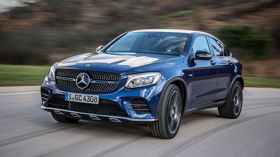 Vor allem die SUVs von Mercedes waren im März gefragt.