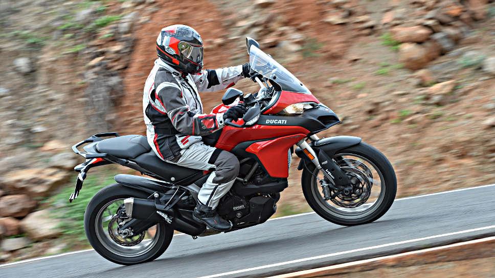 Gelunge - die Ducati Multistrada 950.
