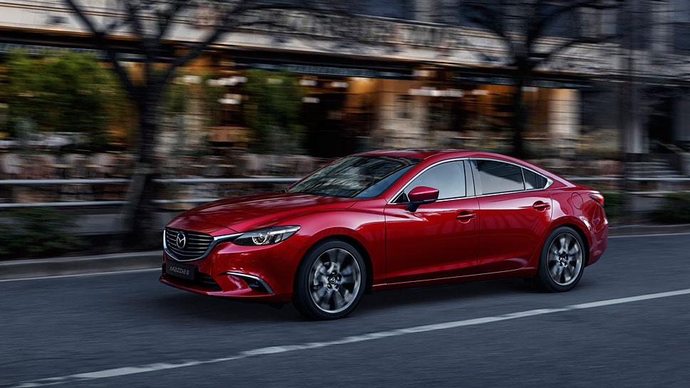 Der Mazda6 bietet nicht nur vom Design her Genuss