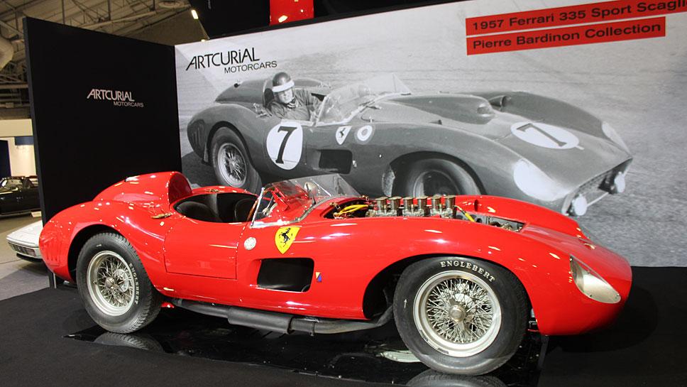 Der Ferrari 335 Sport von 1957 war der teuerste Oldtimer des Jahres