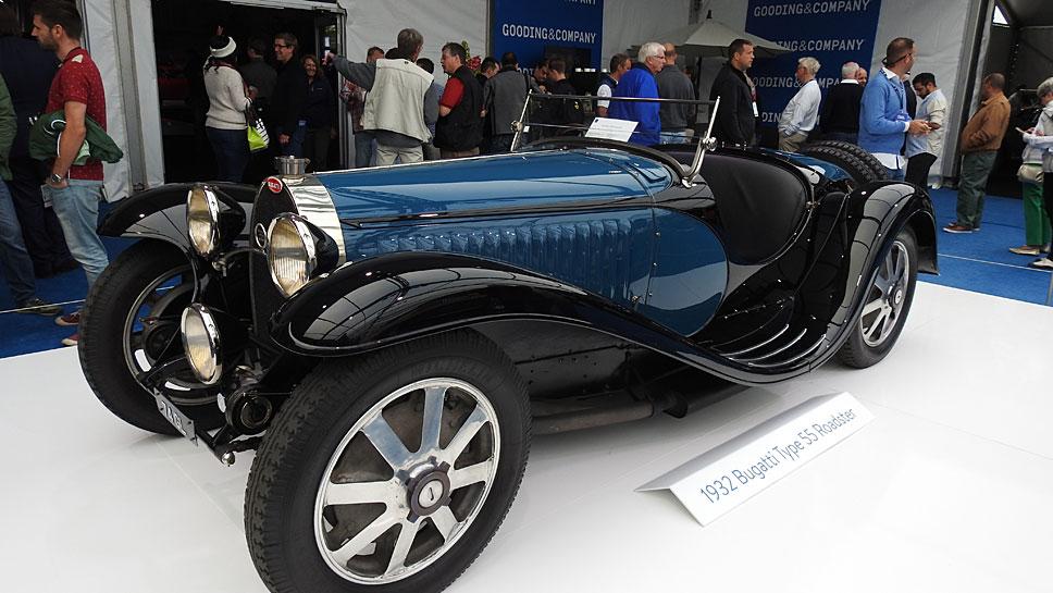 Der Bugatti Type 55 kostete elf Millionen Dollar