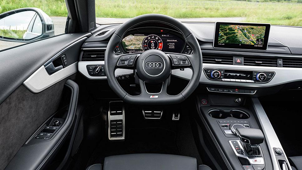 Der Audi S4 hält nichts von optischen Muskelspielen