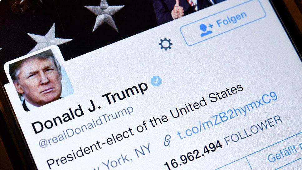 Donald Trump twittert gerne