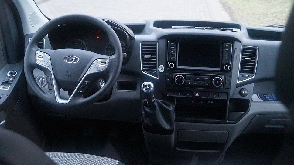 Der Hyundai H350 präsentiert sich als gute Sprinter-Alternative
