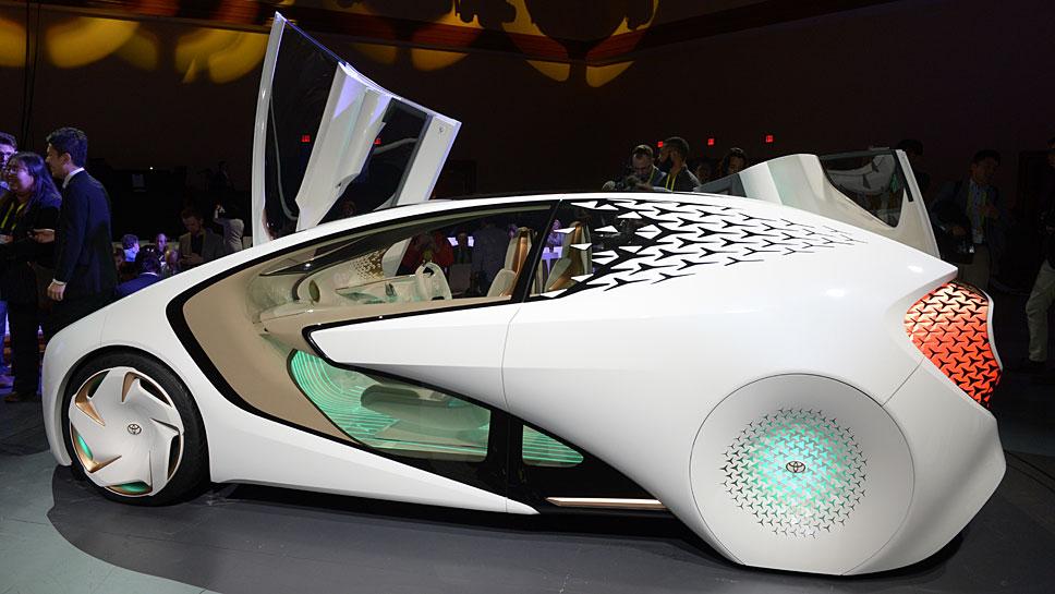 Toyotas autonom fahrender Prototyp «Concept-i» mit künstlicher Intelligenz