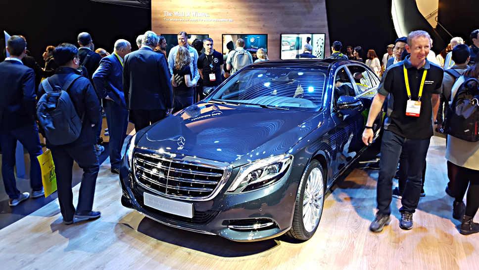 Der Mercedes-Maybach Fit und Healthy auf der CES