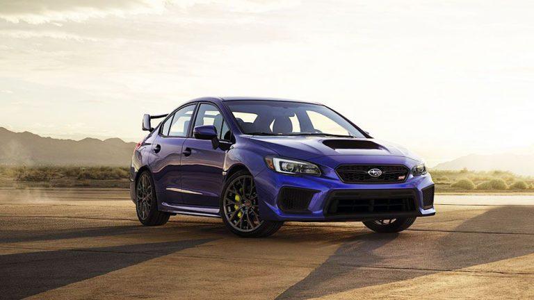 Subaru überarbeitet Kompaktsportler WRX STi