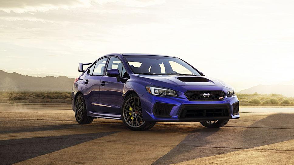 Subaru hat dem WRX STi eine neue Front verliehen