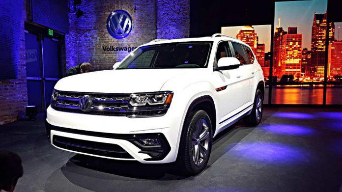 Der Atlas sorgt in den USA für gute Zahlen für VW