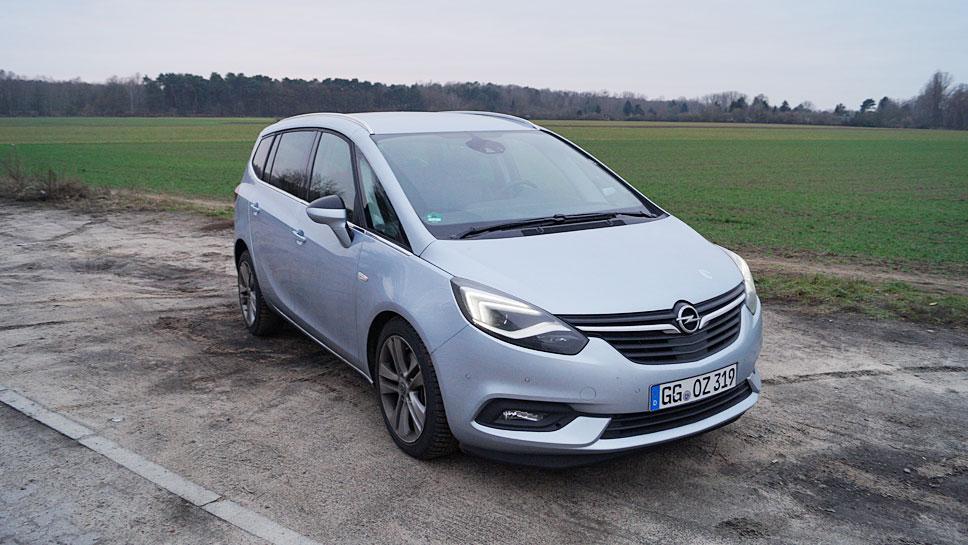 Der Opel Zafira bietet nicht nur viel Platz