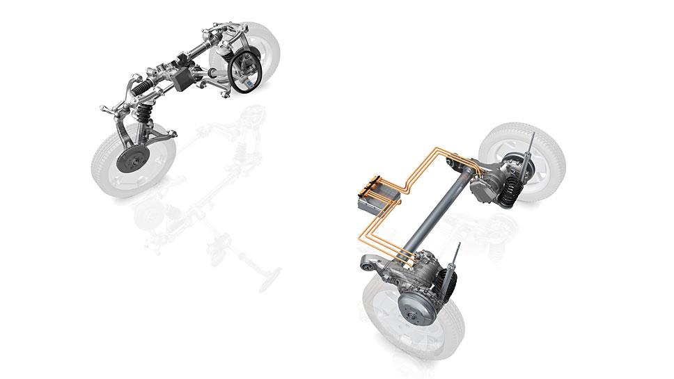 ZF liefert eine Plattform für Elektroautos