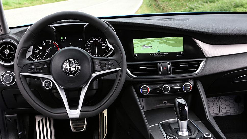 Die Giulia von Alfa Romeo greift als Veloce auf 210 oder 280 PS zurück