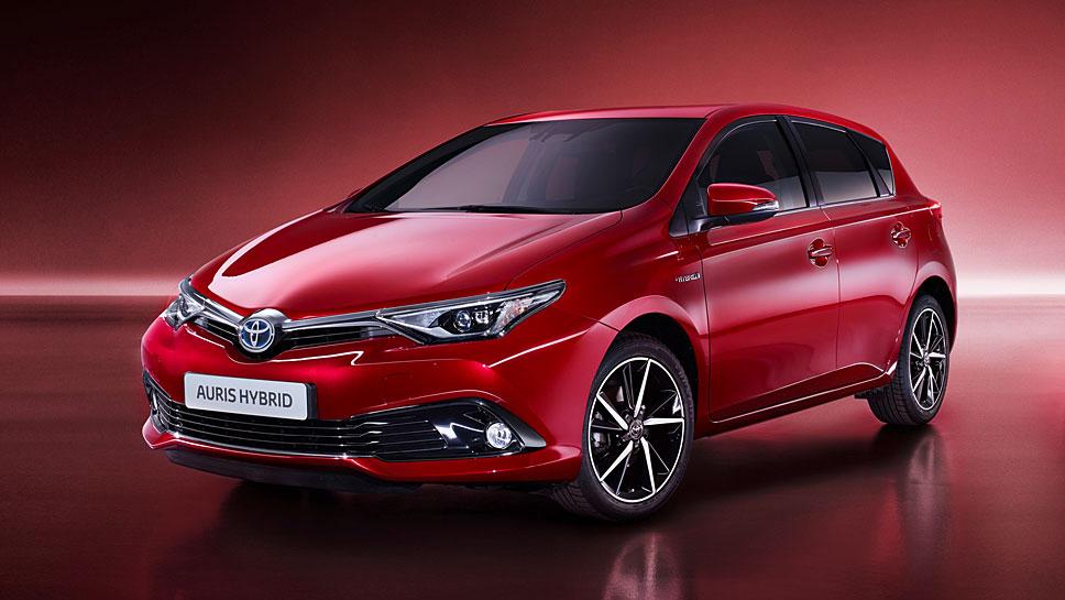 Toyota setzt im neuen Jahr auf rote Töne