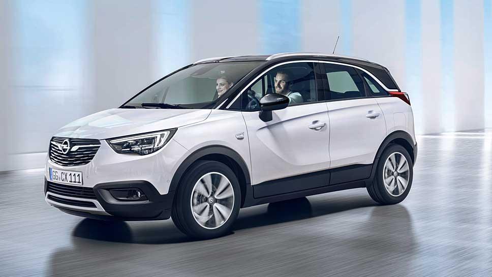 Der Opel Crossland X ist die kleine Schwester des Mokka X