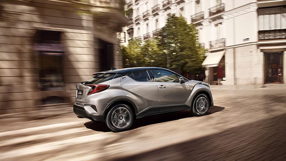 Der Toyota C-HR polarisiert über sein Design