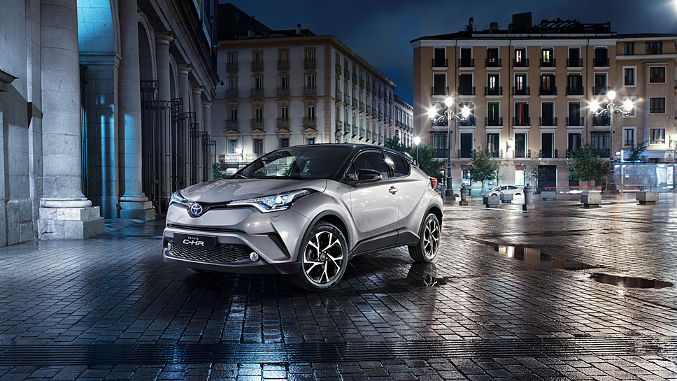Der Toyota C-HR polarisiert vor allem über das Design