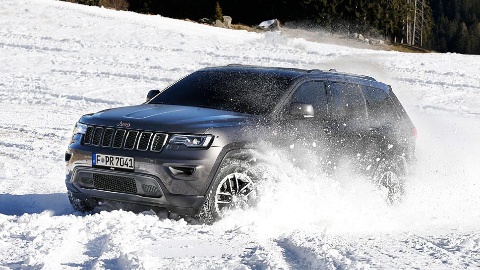 Jeep stattet den Grand Cherokee für die große Offroad-Sause aus