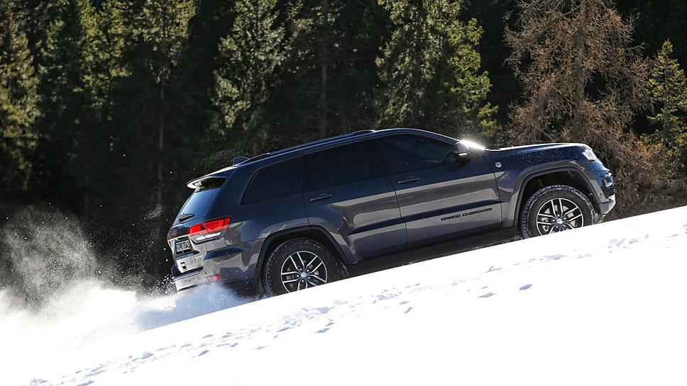 Jeep rüstet den Grand Cherokee für die große Offroad-Sause aus