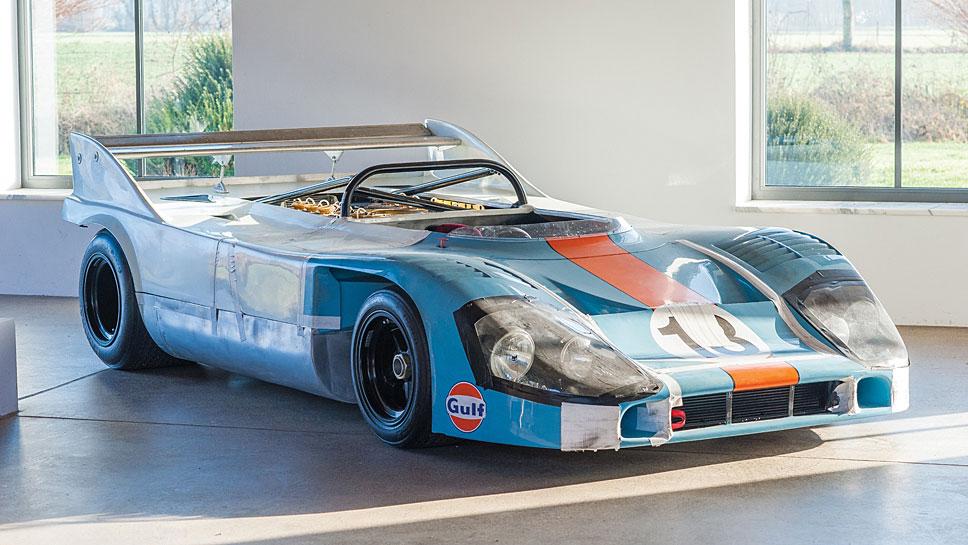 Der Porsche 917 Can-Am-Spyder soll bis zu 5,5 Millionen Dollar einspielen