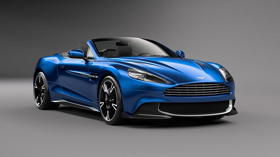 Aston Martin bringt den Vanquish S auch als offene Volante-Variante