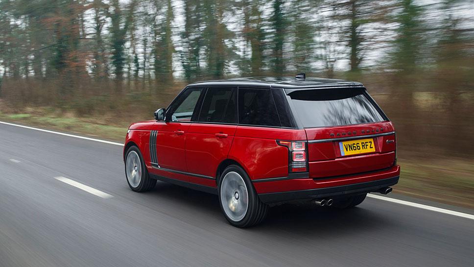 Der Range Rover SV Autobiography Dynamic kostet rund 167.000 Euro