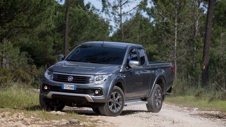 Fiat Fullback: Im Wald angekommen