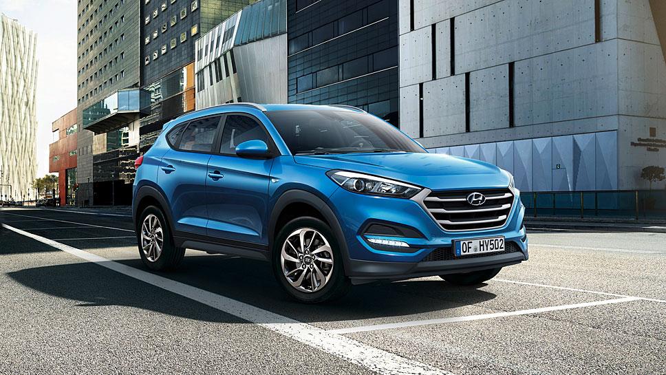 Hyundai bietet eine neue Basis beim Tucson an