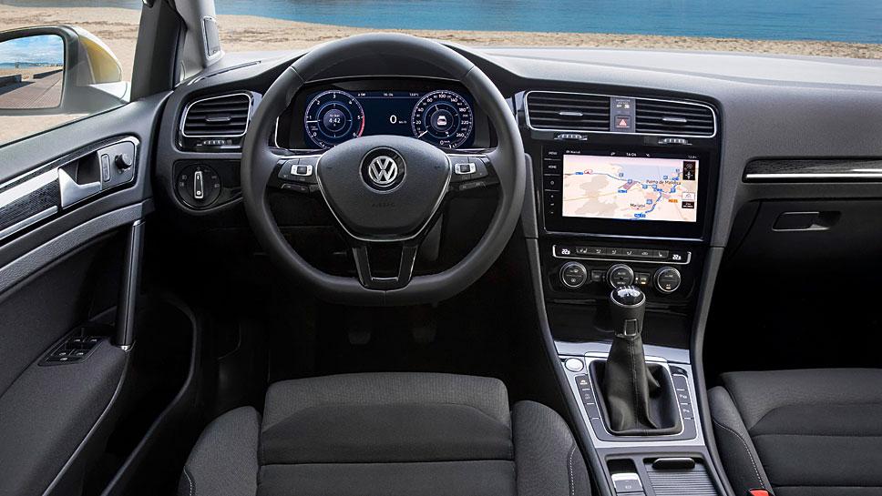 Optisch hat VW den Golf nur wenig überarbeitet